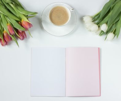 coffee-flowers-notebook-work-desk-163123